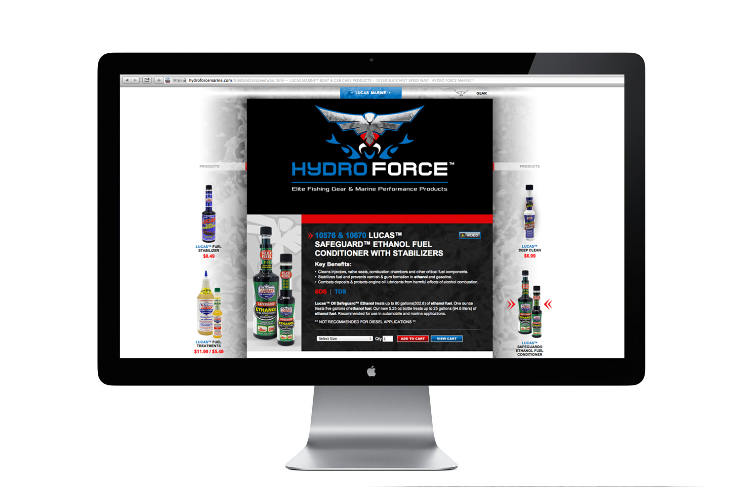 HydroForce Website